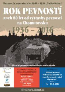 80 let od výstavby pevností - plakát - kopie